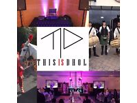 THIS IS DHOL || Dhol players Wedding & party DJ band baja and Bhangra dancers, wedding horse, sax