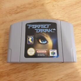 Perfect Dark Nintendo 64 N64 Game