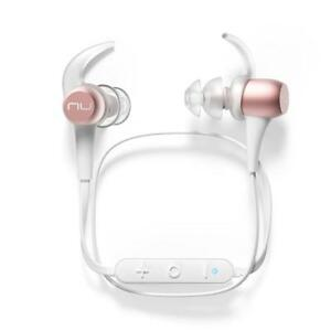 NEW Optoma NuForce BE Sport3 Wireless Bluetooth In-Ear Headphones for Sports, Rose Gold