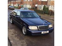 Mercedes S Class S280 W140 Low Mileage / Open To Offers
