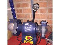 Pro 250 watt, 150 mm Bench Grinder