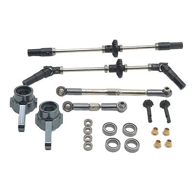 Car Parts - Accessories Front Rear Shaft Upgrade Parts for MN99 MN99S MN90 MN96 1/12 RC Car