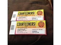 2 x Courteeners tickets