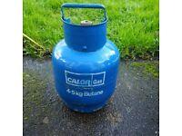 small Butane gas bottle
