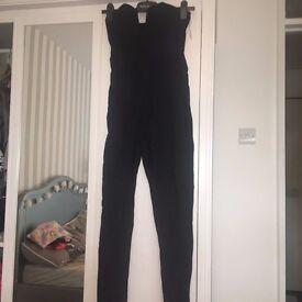 Rare London Black Jumpsuit Size 8