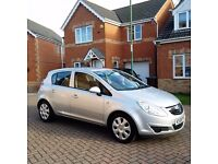 2009 VAUXHALL CORSA CLUB A/C, MOT 12 MONTHS, LOW MILEAGE, HPI CLEAR