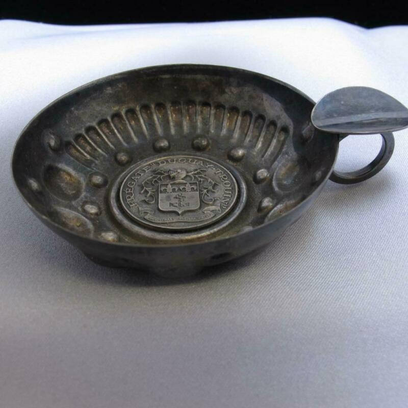 Vintage Silver Plated French Frigate Duguay Trouin Ash Tray 85.3g #J765