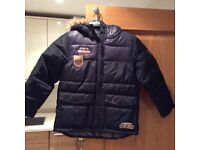 Quilted boys jacket