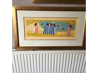 LARGE FRAMED LIMITED EDITION PRINT BY ADAM BARSBY, SUMMERS DREAM