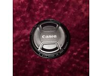 Canon 50mm f1.8 camera lens