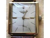 Longines men's gold vintage watch