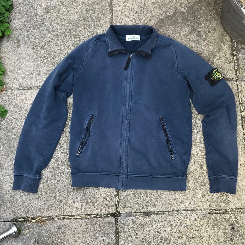 Stone island fleece zip up jacket  d6513821f