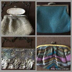 4No. Evening/ Clutch Bags