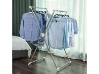 New High Quality Songmics Indoor/Outdoor Steel Foldable Clothes Airer £10.00 SE11 Kennington