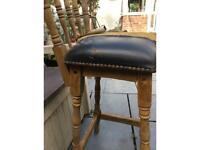 Antique tall chair