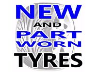 NEW AND PART WORN TYRES - HUGE STOCK