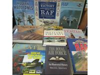 Great Collection of Heavy RAF, Military, War, Fighter Planes, RED ARROWS Books