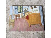 Vincent Van Gogh 'The bedroom'