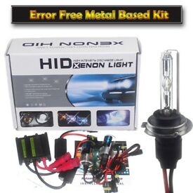 HID KIT - Xenon Lights - CANBUS - ERROR FREE FREE led Sidelights H1 H7 H4 HID LED Headlight Light