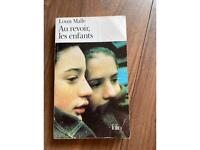 French book Au Revoir Les Enfants Louis Malle for Advanced Higher French please feel free to msg me