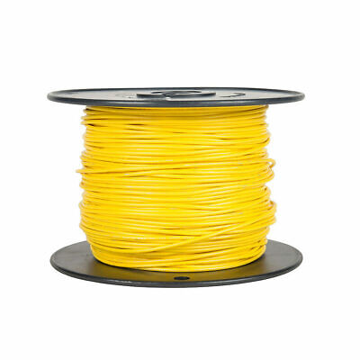 100ft 24awg 24ga Alpha 2854 Yellow Stranded Wire Teflon Copper Mil-w-16878e