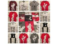 12 x BRAND NEW STREETWEAR PINUP T SHIRTS FOR £25
