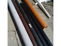 New pipes for exterior & interior varies sizes and colours