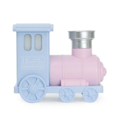 Mini Train USB Ultrasonic Air Purifier Aroma Diffuser Mist Humidifier Pink