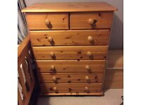 Beautiful Pine Chest of Drawers