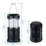 New Camping Lantern Portable Collapsible 30LED Light Lamp For Hiking Emergencies