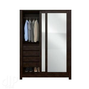 SOLID WOOD WARDROBE ONLY $799