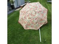 Garden parasol.