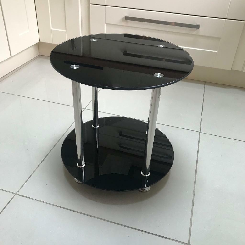 Super Small Black Glass Table In Team Valley Trading Estate Tyne And Wear Gumtree Home Remodeling Inspirations Basidirectenergyitoicom