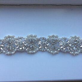 Crystal sash