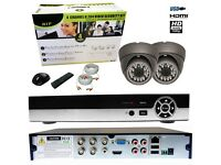 EAGLE PRO 2X HD 1080P CCTV CAMERA KIT PACKAGE 2MP 20M IR OUTDOOR NIGHT VISION DVR 4 CHANNEL CLOUD