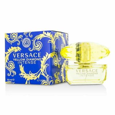 Versace Yellow Diamond Intense 1.7 oz Eau De Parfum Women's Perfume NiB Sealed