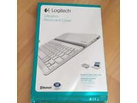 Logitech Ultrathin Bluetooth Keyboard Cover for iPad2, iPad 3rd & 4th Gen White