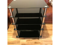 5 Tier HiFi/TV Tower Stand 60cm wide 80cm tall