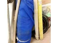 Heras fencing netting