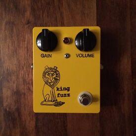 Bigfoot Engineering King Fuzz - Super vicious fuzz effects pedal - J Mascis Dinosaur Jr - Mint !