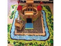 ELC wooden play castle
