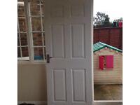 Internal standard door