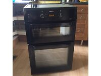 BEKO Double oven with induction hob