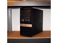 HP AMD Dual Core PC Tower Windows 10 Microsoft Office ATI Graphics 2GB DDR3 RAM 250GB HDD