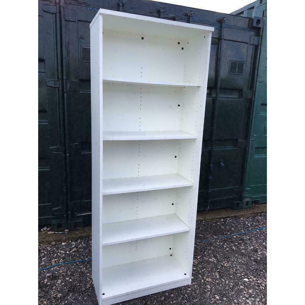save off 1c288 ec3b8 2m tall commercial office shelving unit white | in Cheltenham,  Gloucestershire | Gumtree