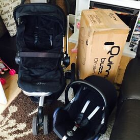 Quinny Buzz Travel System - Rocking Black