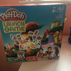 Play doh lunch game