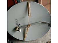 Triax 1 Metre Moterised Satellite Dish With Usals