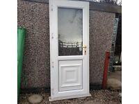 Double glazed uPVC door