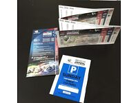 2017 SILVERSTONE OCTO BRITISH GRAND PRIX MOTOGP 27/8/17 4 tickets